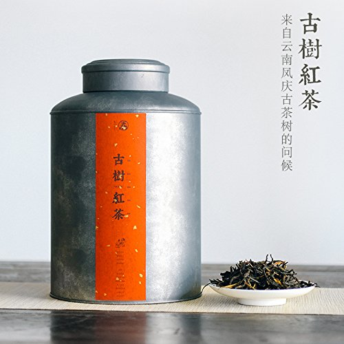Aseus The ancient Black Tea 500 grams of super Yunnan Fengqing Dianhong Black Tea head spring tea Kung Fu early post by Aseus-Ltd