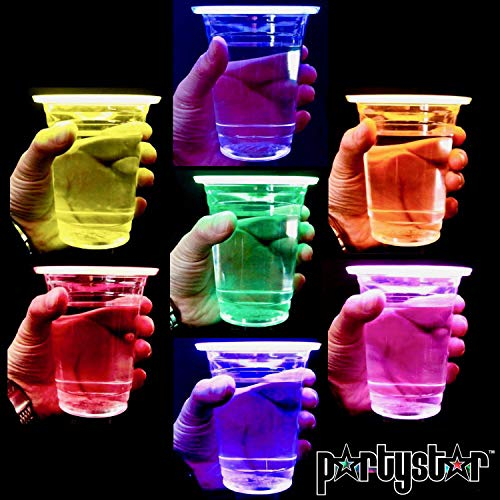Light Up Cup - PartyStar 16oz Glowing Party Cups for