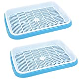 Seed Sprouter, RuiyiF 2 Sets Seed Trays for Planting Germination Free-Soil Double Layers, Blue + White