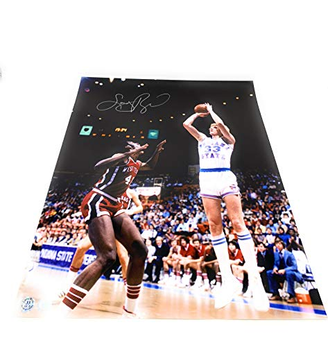 Larry Bird Indiana State Signed Autograph 16x20 Photo Photograph Schwartz Sports Bird Hologram & ()