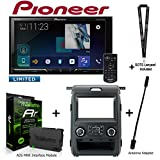 Pioneer AVH-2440NEX 7″ DVD Receiver, iDatalink KIT-F150 Dashkit for Select Ford F-150, ADS-MRR Interface Module and BAA21 Antenna Adapter and a SOTS Lanyard Review