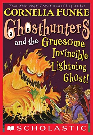 book cover of Ghosthunters and the Gruesome Invincible Lighting Ghost