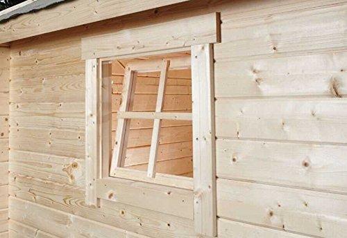 Wolff Finnhaus Einzelfenster Tanja 28 natur Einbaumaß: 54 x 54 cm Bohlenstärke: 28 mm Durchgangsmaß: 44 x 44 cm Ausführung: naturbelassen Material: Massivholz Fensterart: Dreh- / Kippfenster