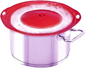 LINFON Boil Over Protector Boil Over Universal Lid Fits Openings 6