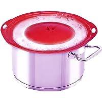 LINFON Bollire Over Protector Boil Over coperchio universale con colore casuale