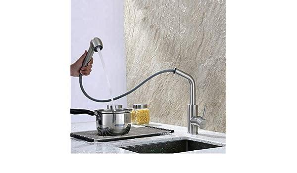 Capalta Blume Grifo de cocina extensible con ducha acero inoxidable