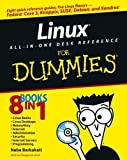 img - for Linux All-in-One Desk Reference For Dummies (For Dummies (Computers)) by Naba Barkakati (2005-02-25) book / textbook / text book