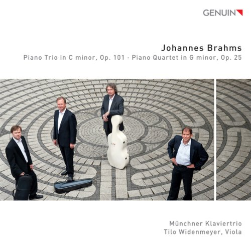 Brahms: Piano Trio in C minor, Op. 101 - Piano Quartet in G minor, Op. 25