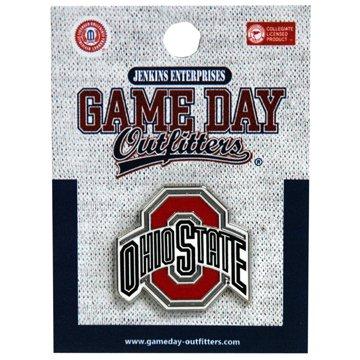 Jenkins Enterprises Ohio State Buckeyes Team Logo Lapel Pin - NCAA Tuxedo Tie Clip