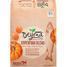 Purina Beyond Natural Dry Dog Food, Superfood Blend, Salmon, Egg and Pumpkin Recipe, 14.5-Pound Bag, Pack of 1