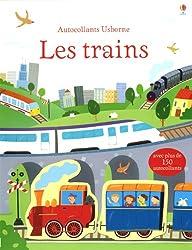Les trains - Autocollants Usborne