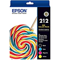 Epson EPC13T02R692 212 Value Pack Ink Cartridge