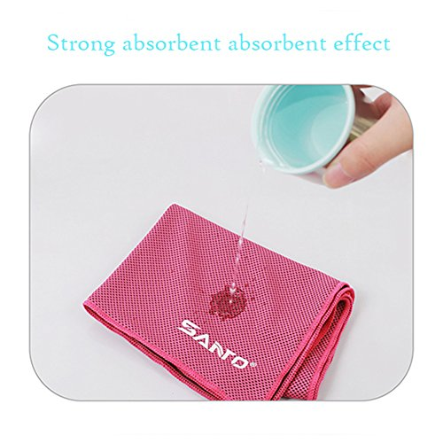 Basketball Sweat Towels: Wingogo Cooling Gym Sweat Towel Special Microfibres Super