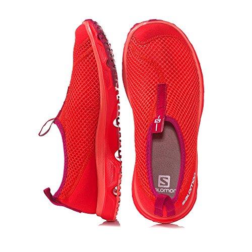 Salomon Damen RX Moc 3.0 Traillaufschuhe rot