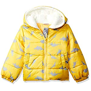 Donuts Baby Boy's Jacket (280145289_Yellow_06M_FS 6-9 Months)