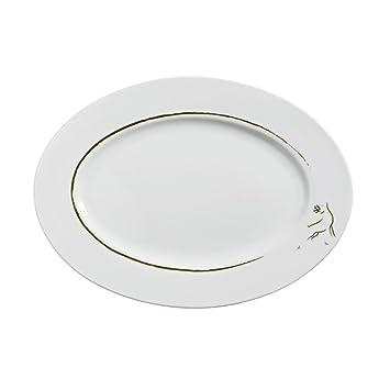 Vega vajilla Serie pirsch-porcelain, moderno diseño de país, se vende en paquetes de caso: Amazon.es: Hogar