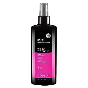 MODELCO Self Tanner Dry Body Oil Spray for Sunless Tanning