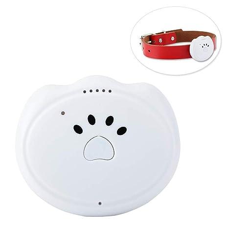 Rastreador GPS para mascotas Dispositivo de seguimiento anti-perdido Buscador de perros gatos Impermeable Alarma