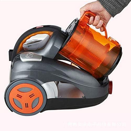 LQPOUXCQ aspirateur balai Aspirateur 2600W électrique Aspirateurs Canister Haute Puissance d\'aspiration des ménages Aspirateur (Color : Orange) Red