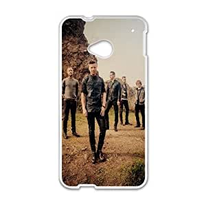 HTC One M7 Cell Phone Case White One Republic H2S9JH