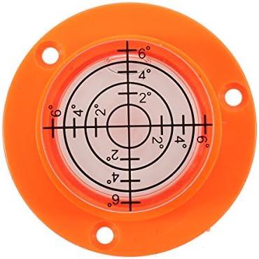 Queenwind 50x17mm 直径ディスクバブルスピリットレベルラウンド円形三脚ブルズアイ