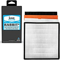 Home Revolution 1 Replacement Filter Kit, Fits Rabbit Air SPA-780A and SPA-780A Air Purifier and Part Minus A2 4-Layer HEPA, Carbon, Charcoal, Dander Filter Kit