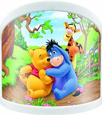 Winnie Pooh WPLUB051 Winnie the Pooh Nachtlicht, klein: Amazon.de ...