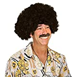 Party Central Club Pack of 12 Fashionable Celebrate Good Times 70's Disco Theme Black Afro Wig