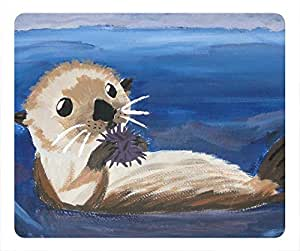 Sea Otter Masterpiece Limited Design Oblong Mouse Pad by Cases & Mousepads