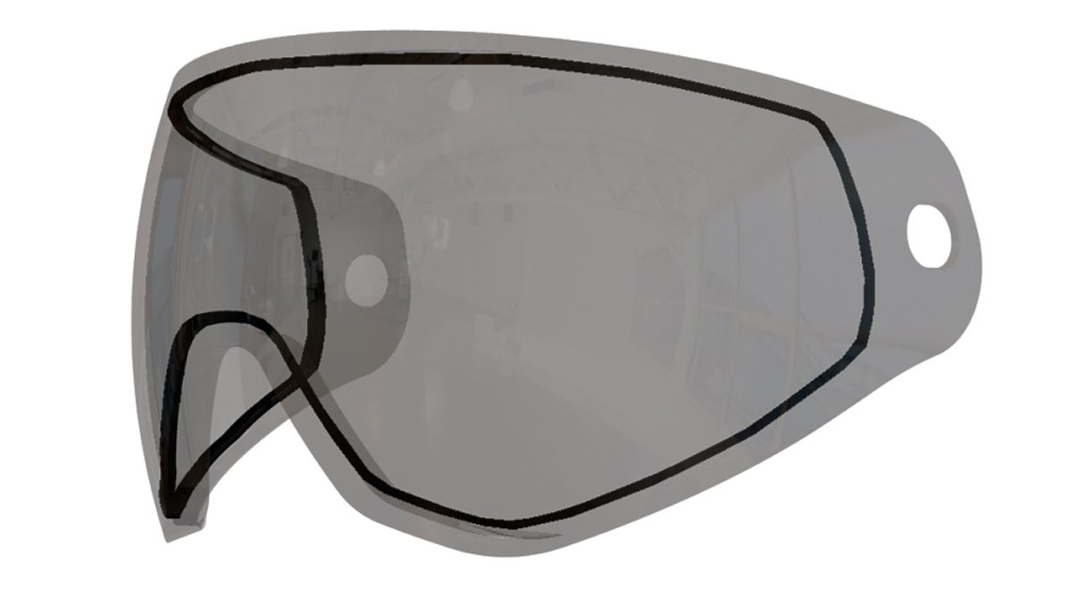 HK Army KLR PURE Dual Pane Thermal Replacement Lens for Paintball Mask - Clear by HK Army