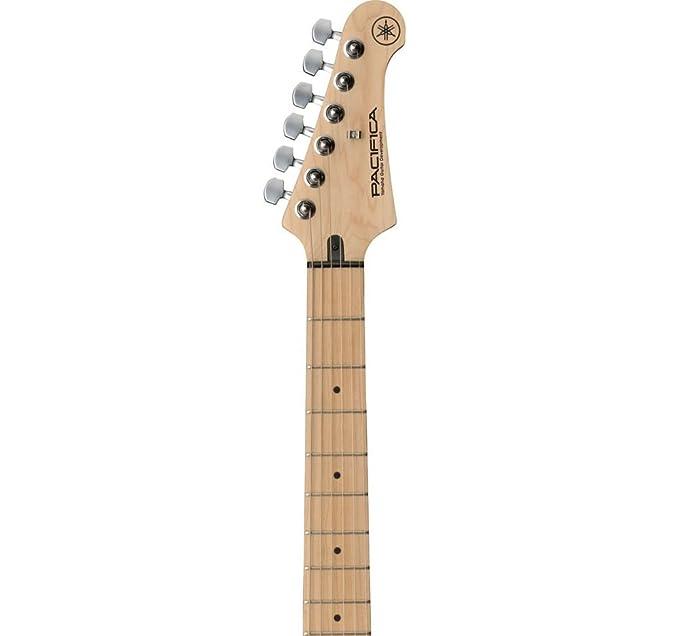 Yamaha PACIFICA112VMX Electric guitar Sólido 6strings Negro, Madera, Amarillo - Guitarra (6 cuerdas, 1,05 cm, Φ5(Screw-in)): Amazon.es: Instrumentos ...