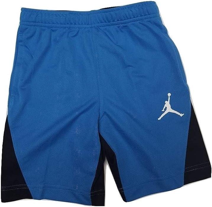 68c9f67011a Nike Boy's Jordan 23 Speckle Dri-Fit Basketball Shorts Blue/Black - Size 6