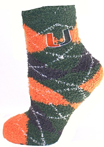Official Nba White Tube Socks (Miami Hurricanes Argyle Fuzzy Lounge Socks)