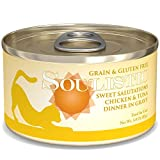 Cheap Soulistic Sweet Salutations Chicken & Tuna Dinner in Gravy Wet Cat Food, 3 oz, Case of 12, 12 X 3 OZ