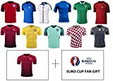 Best Soccer Jerseys - Euro Cup 2016-17 Adult Mens Soccer Jerseys – Review