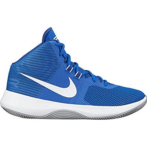 Nike Mens Pallino Da Basket Precisione Aria Lupo Grigio / Nero-m