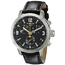 Tissot Mens Quartz Leather watch #T0554171605700