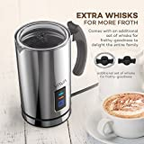 VAVA Milk Frother Electric Liquid Heater with Hot