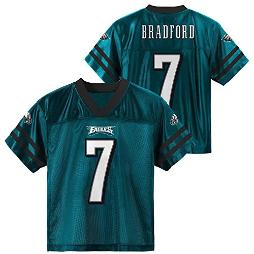 Sam Bradford Philadelphia Eagles Green Home Player Jersey Youth (Large 12/14)