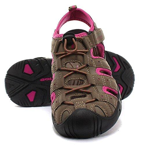 2' Sandalias para trekking tamaños 5 Pink 6 Reino para 8 caminar 4 deportivas 'SHINGLE Gola Taupe 7 3 Unido damas 1wg1Yrq