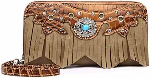 e173b0f6833b Shopping Browns - Leather - Wristlets - Handbags & Wallets - Women ...