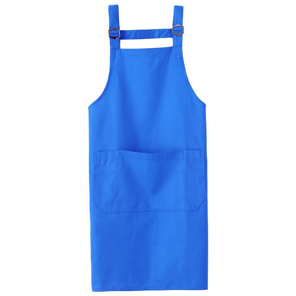 Beige Coffee House HENSE Unisex Adjustable Apron With Three Multipurpose Pockets Cooking Kitchen Chefs Bibs Aprons For Baking Painting Restaurant Home Kitchen