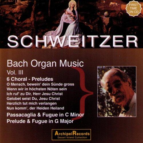 - Johann Sebastian Bach: Organ Music, Volume II