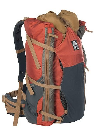 Granite Gear Torso Nimbus Core Pack (Burnt Brick/Moonmist, Regular), Outdoor Stuffs