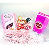 Lindt Mum Treat Tub - By Moreton Gifts - Great Mother's Day, Birthday, Thank You Gift - Gold Bear, Truffles, Heart, Strawberries And Cream Truffles