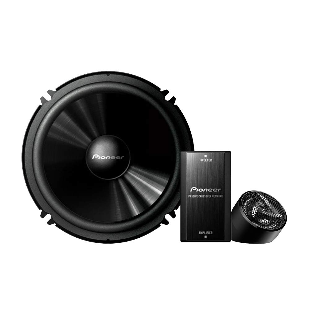 Pioneer TS-C601IN Separate 2 Way Component Speaker (Black)