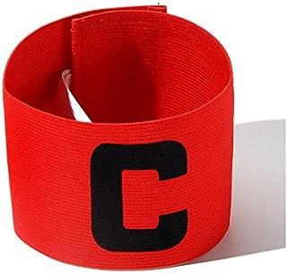 Unaoiwn, fascia da capitano, elastica, per calcio, regolabile, per adulti e bambini, YELLOW NUO DI