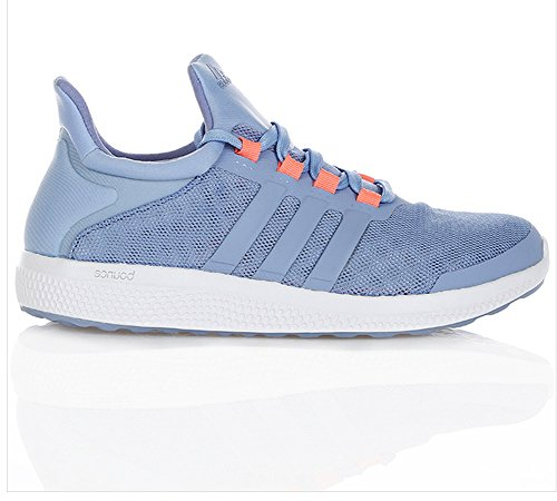 Adidas Performance Kvinners Cc Soniske W Løpesko Prisme Blå / Søn Glød