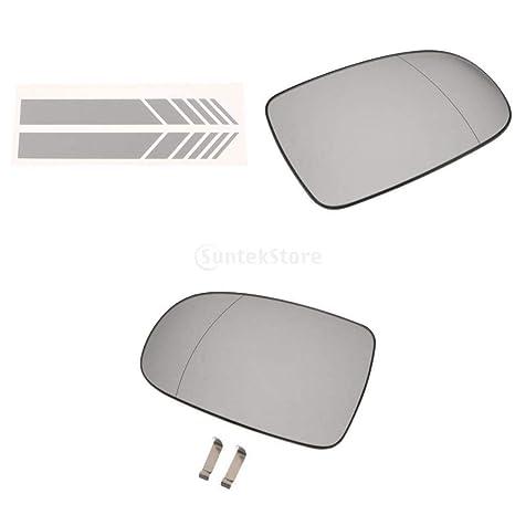 Sostituzione Vetro Specchietto Retrovisore Esterno.Sharplace Sinistro Destro Specchietto Retrovisore Esterno In Vetro