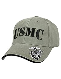 9738 Rothco OD Deluxe Vintage USMC Low Profile Cap